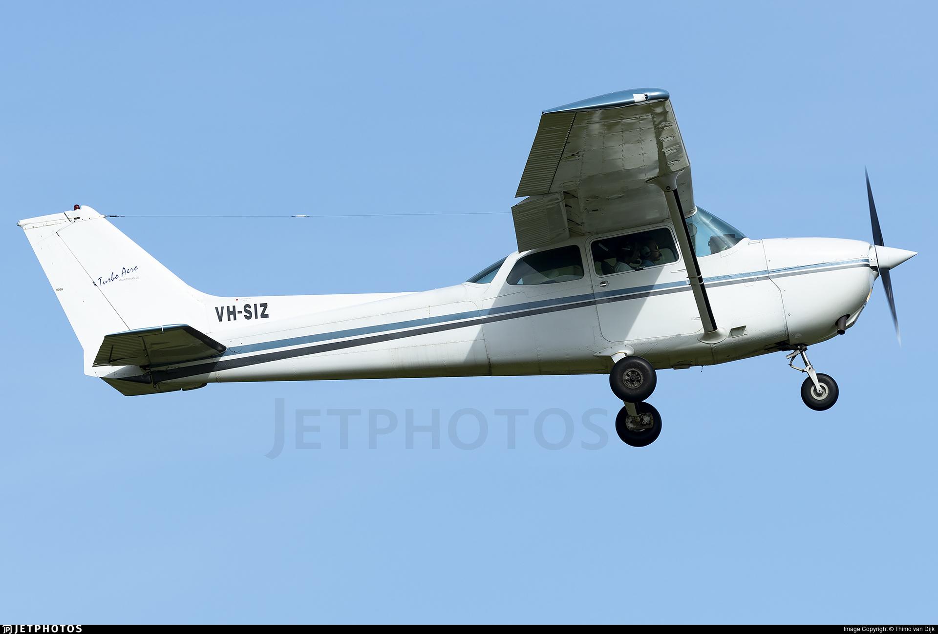 VH-SIZ - Cessna 172P Skyhawk II - Turbo Aero Maintenance