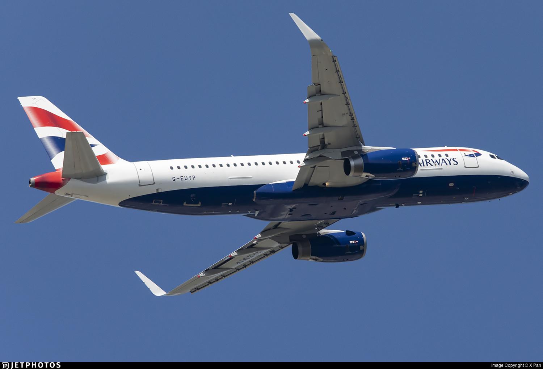 G-EUYP - Airbus A320-232 - British Airways