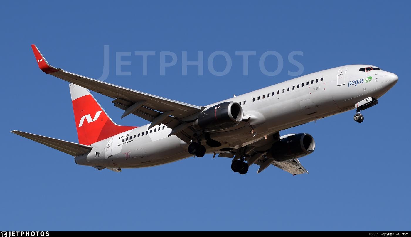 VP-BPI - Boeing 737-83N - Ikar