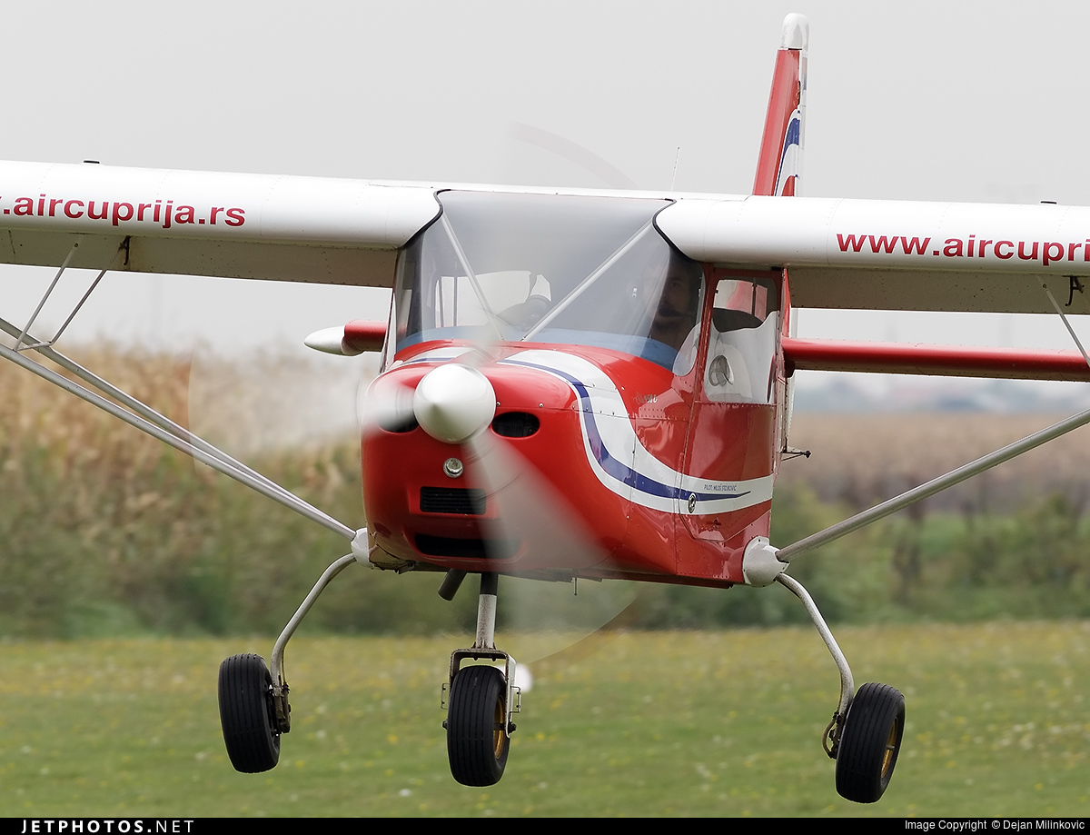 YU-A106   Aero East Europe Sila 450C   Air Cuprija   Dejan