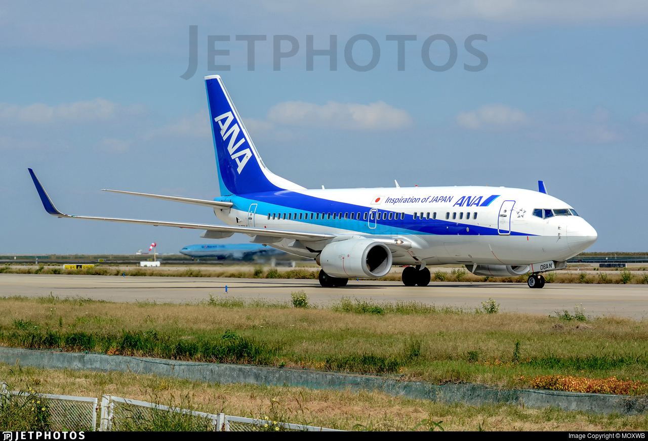 JA06AN - Boeing 737-781 - All Nippon Airways (ANA)