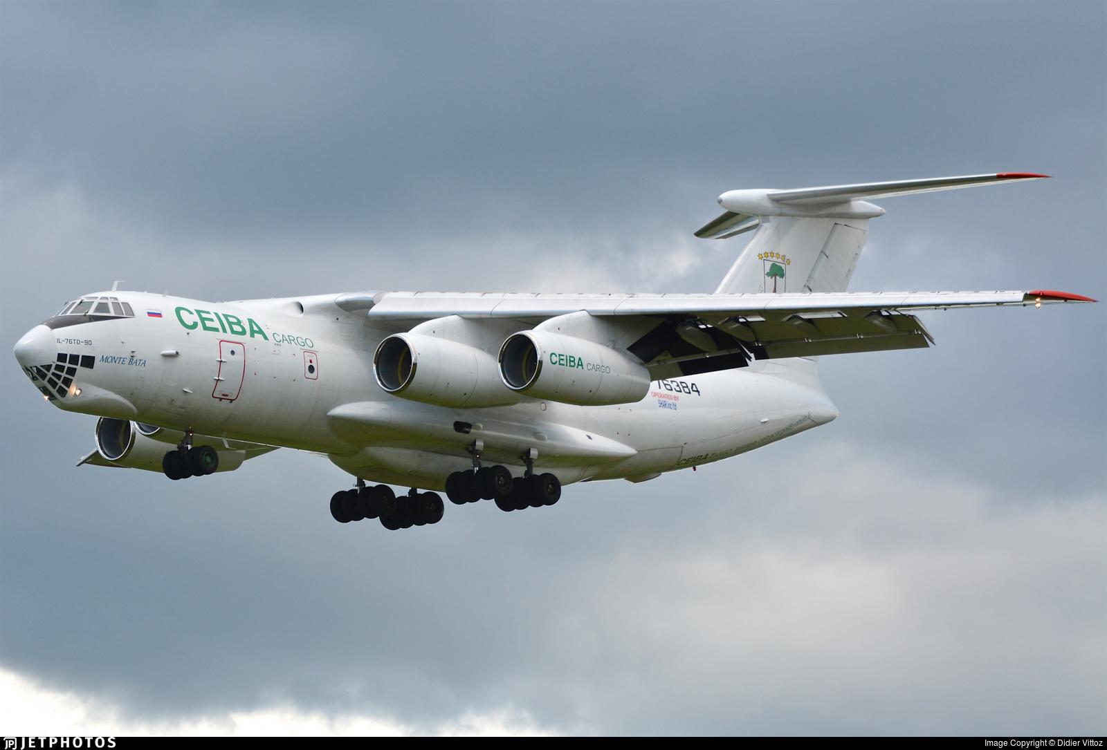 RA-76384 - Ilyushin IL-76TD-90VD - Ceiba Intercontinental Airlines Cargo