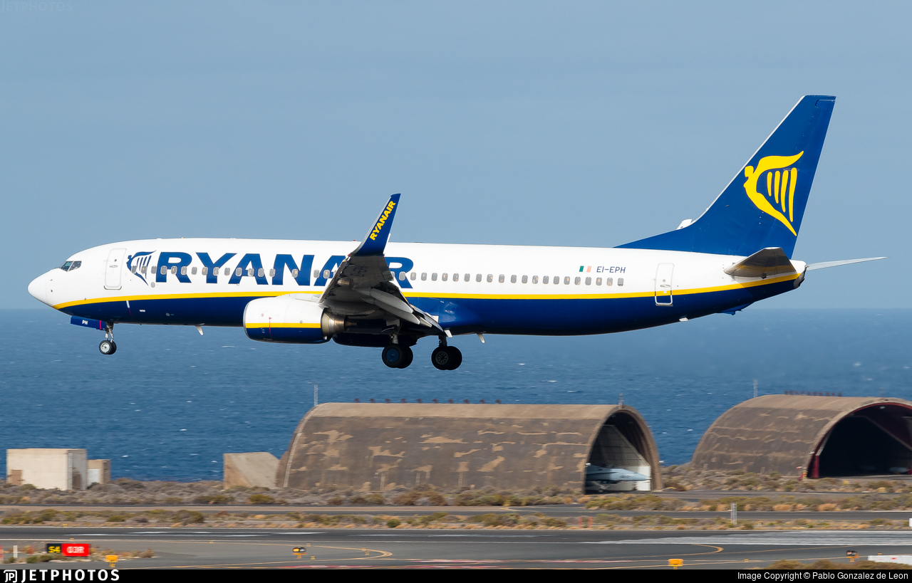 EI-EPH - Boeing 737-8AS - Ryanair