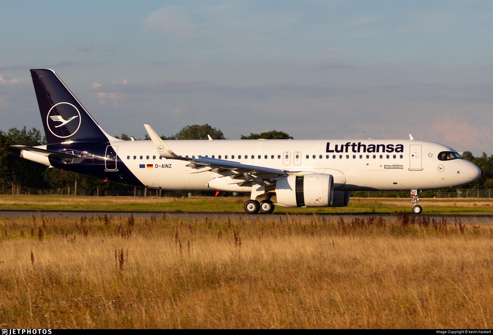 D-AINZ - Airbus A320-271N - Lufthansa