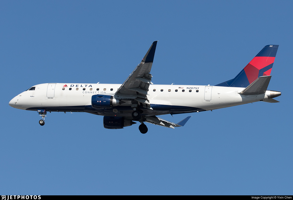 N287SY - Embraer 170-200LL - Delta Connection (SkyWest Airlines)