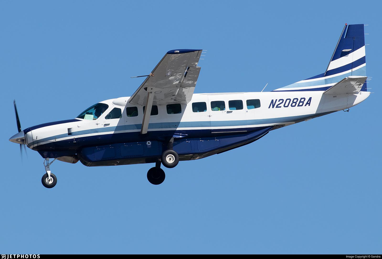 N208BA - Cessna 208B Grand Caravan - Boeing Company