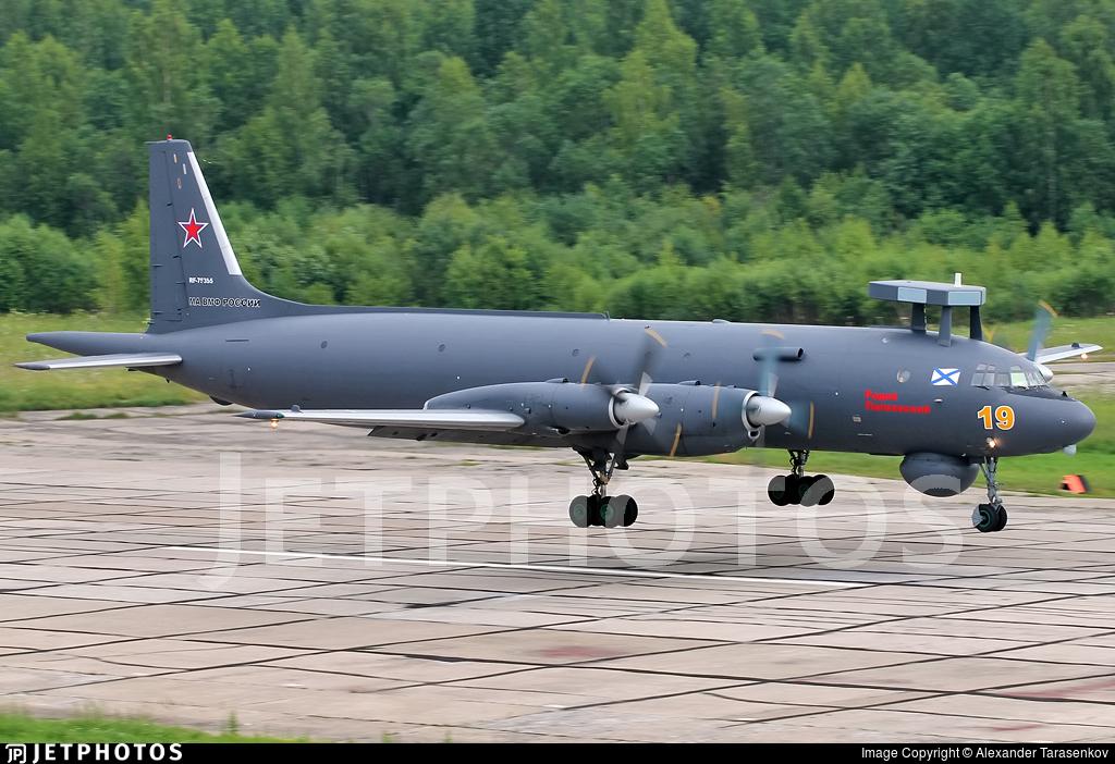 RF-75355 - Ilyushin IL-38 May - Russia - Navy