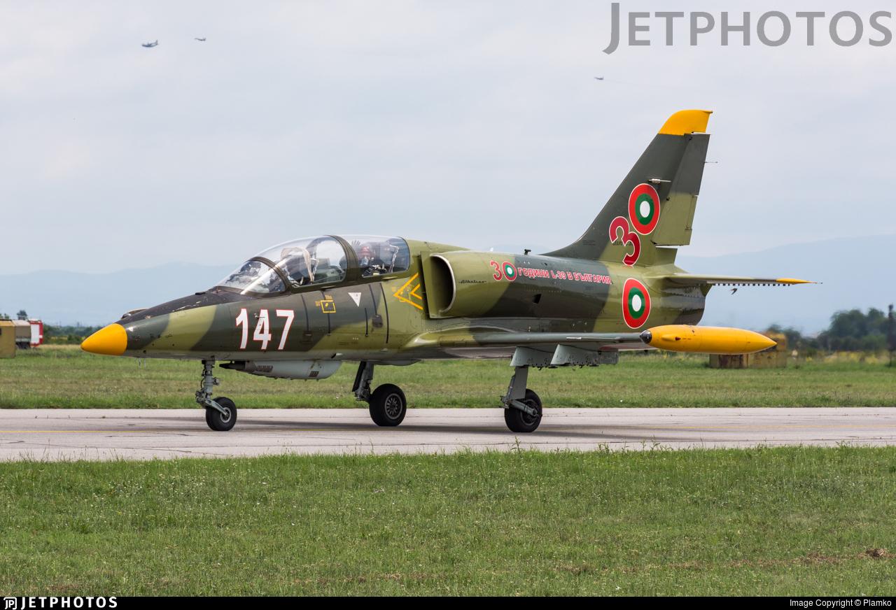147 - Aero L-39ZA Albatros - Bulgaria - Air Force