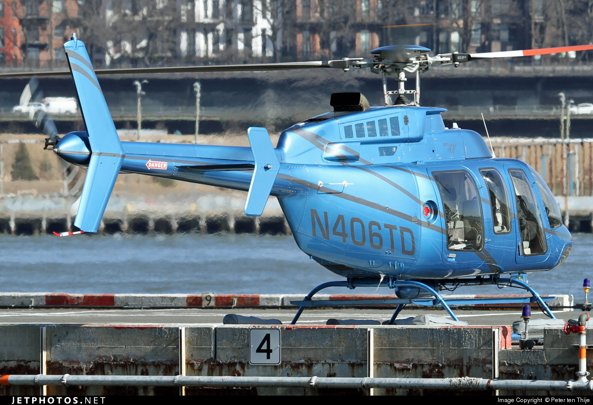 N406TD - Bell 407 - Private