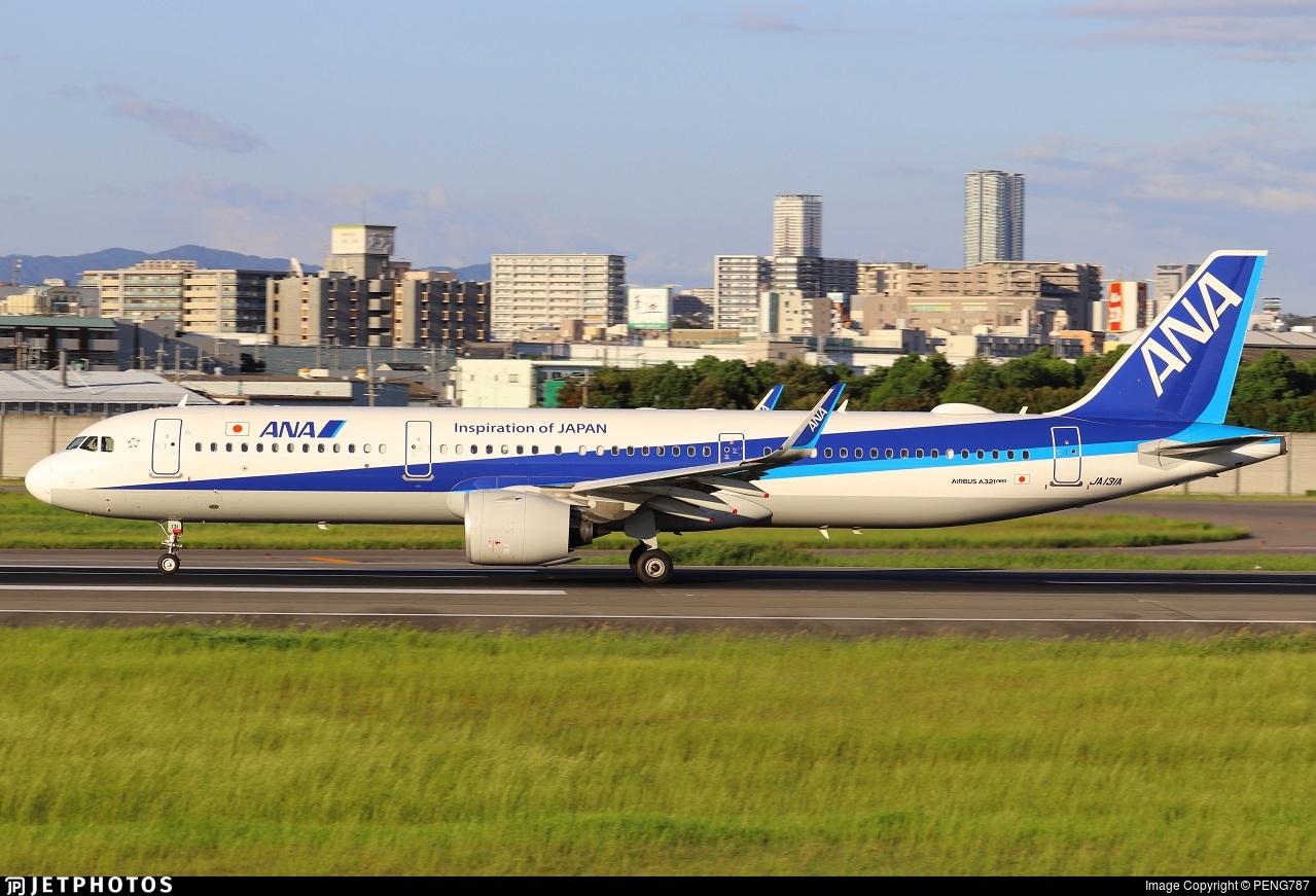 JA131A - Airbus A321-272N - All Nippon Airways (ANA)