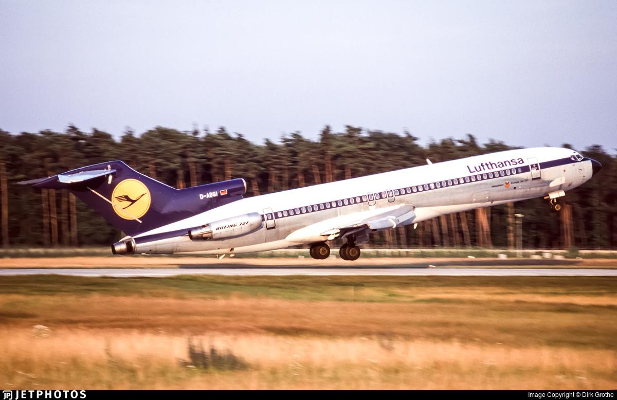 D-ABQI - Boeing 727-230(Adv) - Lufthansa