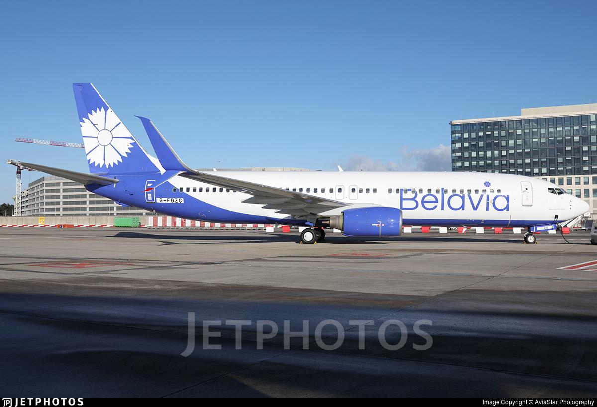 G-FDZG - Boeing 737-8K5 - Belavia Belarusian Airlines