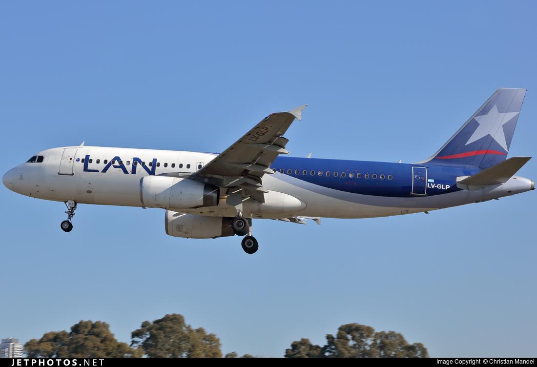 LV-GLP - Airbus A320-233 - LAN Argentina
