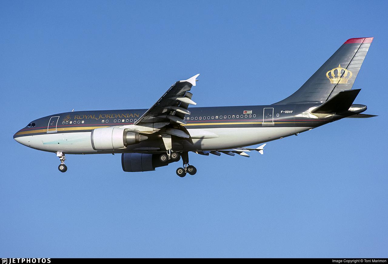 F-ODVF - Airbus A310-304 - Royal Jordanian