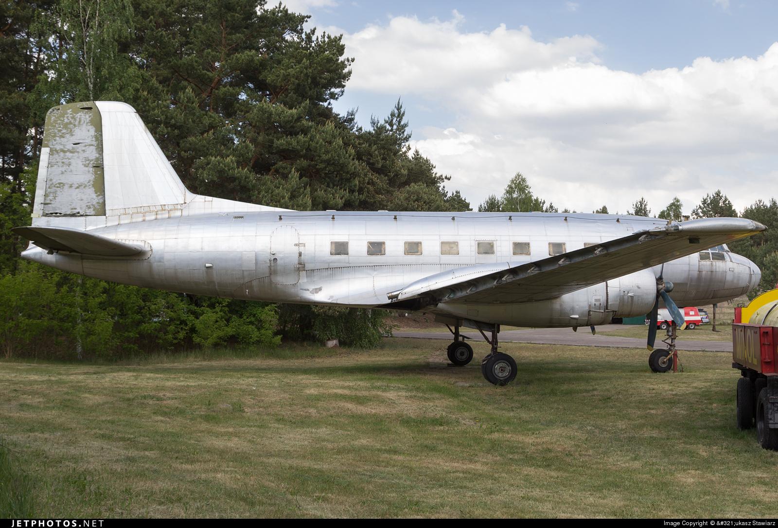 482 - VEB Flugzeugbau IL-14P - German Democratic Republic - Air Force