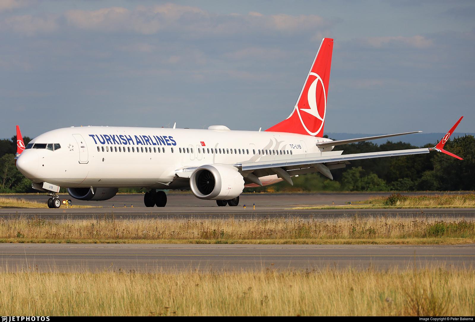 TC-LYB - Boeing 737-9 MAX - Turkish Airlines