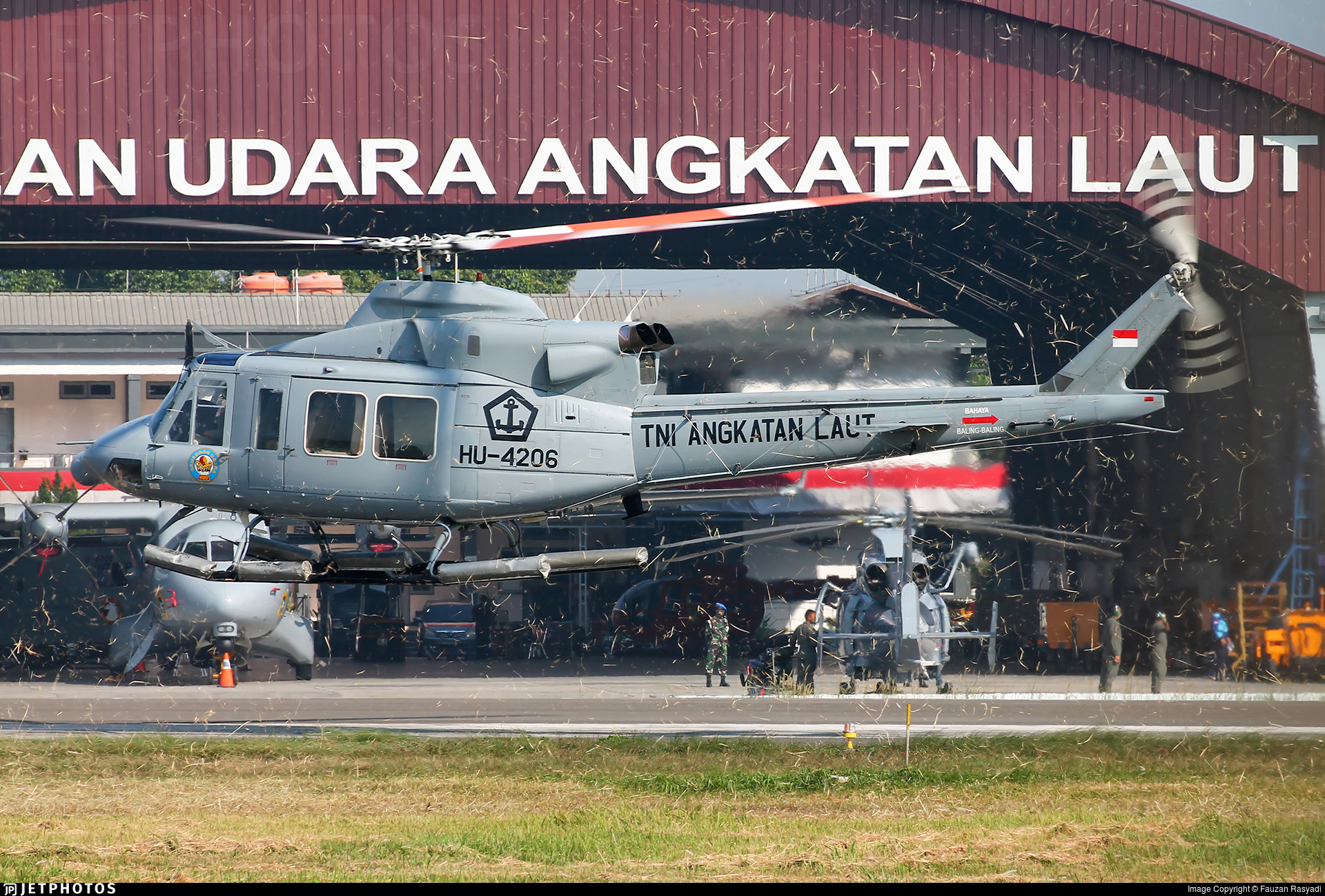 HU-4206 - IPTN NB-412S - Indonesia - Navy