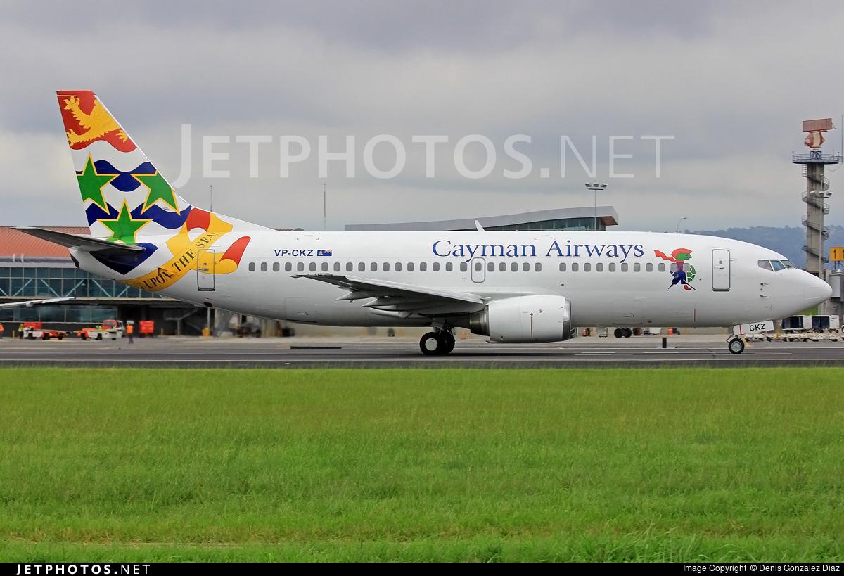 VP-CKZ - Boeing 737-36E - Cayman Airways