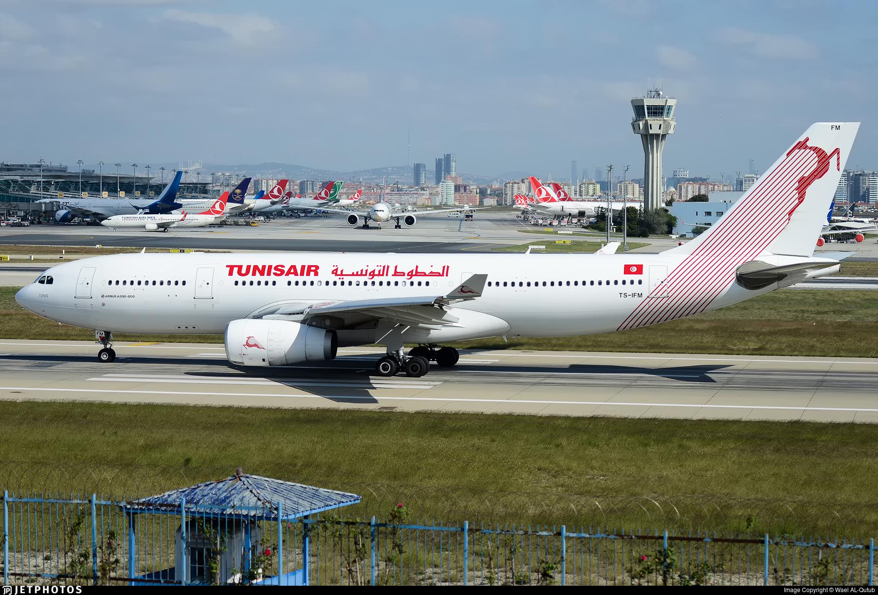 8037065bf6db TS-IFM - Airbus A330-243 - Tunisair