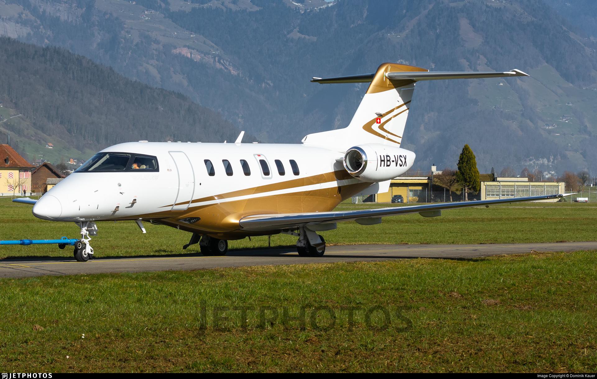 HB-VSX - Pilatus PC-24 - Private