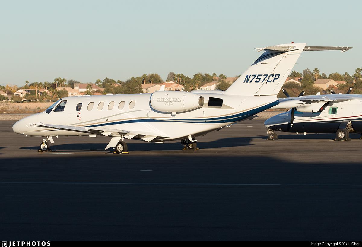 N757CP - Cessna 525 Citationjet CJ2 - Private