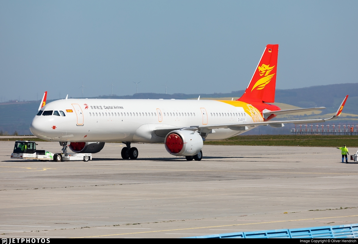 D-AVYY - Airbus A321-251NX - Capital Airlines