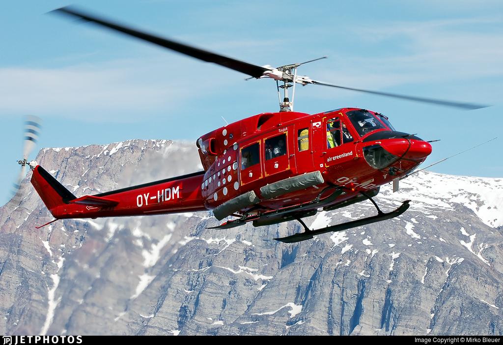 OY-HDM - Bell 212 - Air Greenland