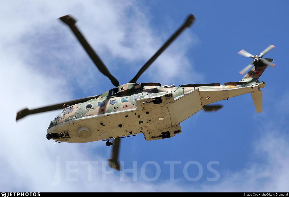 19609 - Agusta-Westland EH-101 Merlin Mk.512 - Portugal - Air Force
