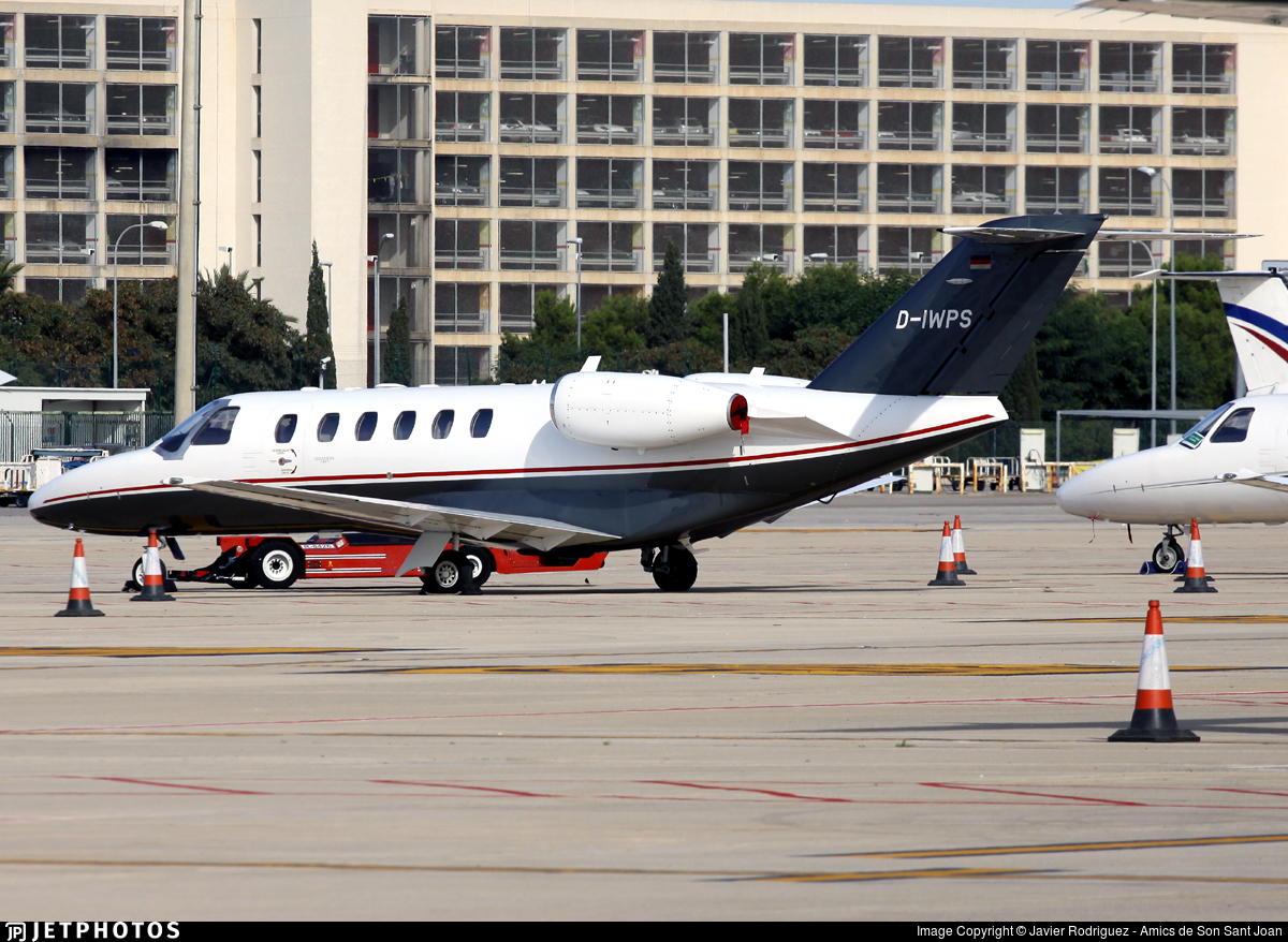 D-IWPS - Cessna 525A CitationJet 2 Plus - Private