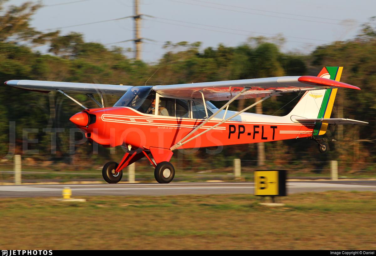 PP-FLT - Aero Boero AB180RVR - Aeroclube de Santa Catarina
