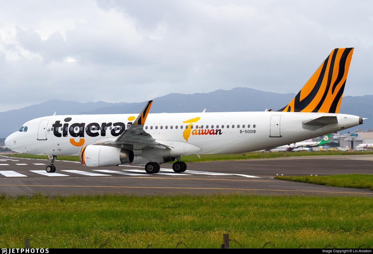 B-50018 - Airbus A320-232 - Tigerair Taiwan