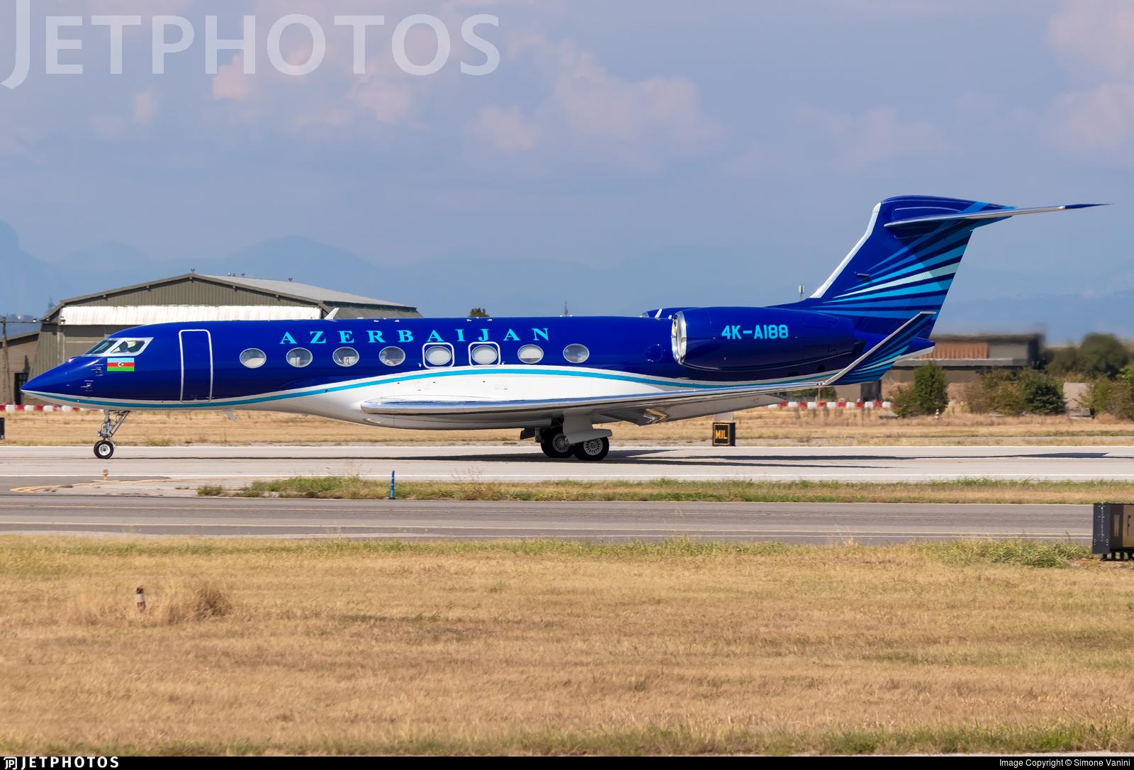 4K-AI88 - Gulfstream G650 - Azerbaijan - Government
