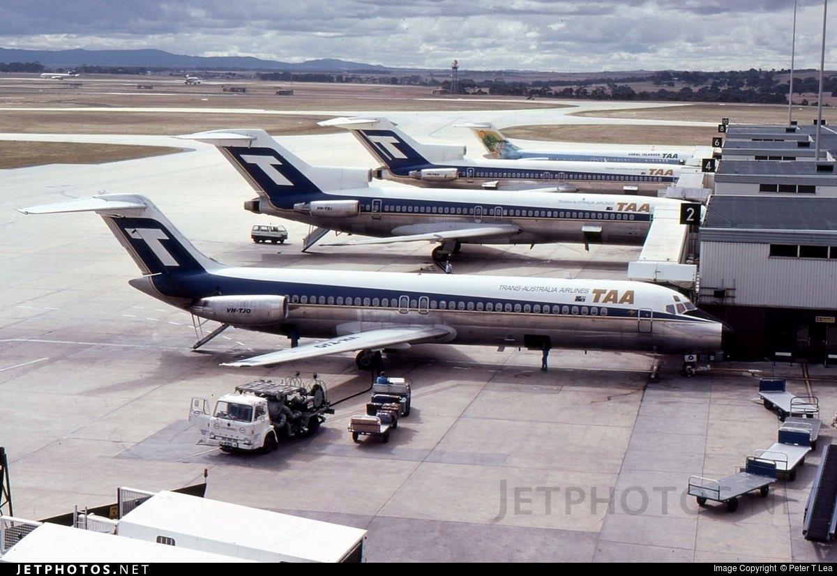 VH-TJO - McDonnell Douglas DC-9-31 - Trans Australia Airlines (TAA)