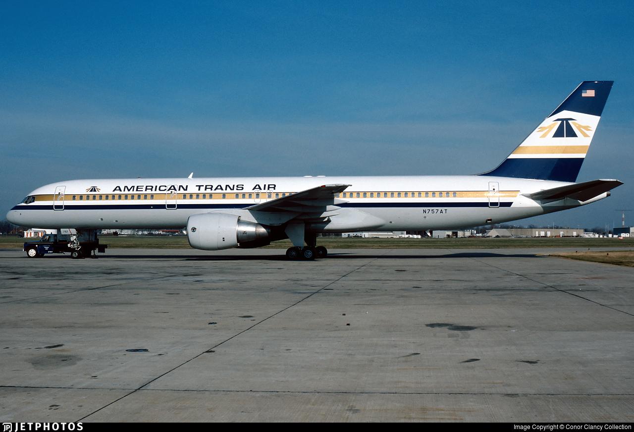 N757AT - Boeing 757-212 - American Trans Air (ATA)
