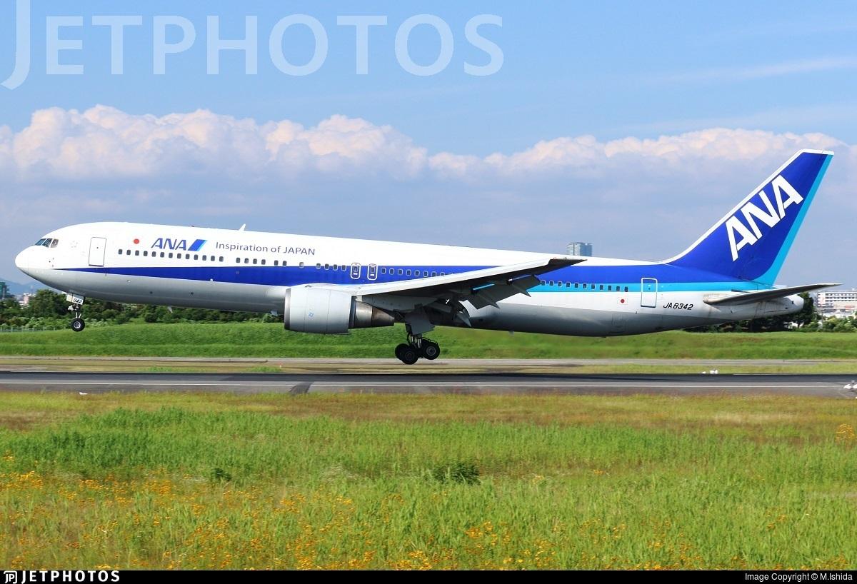 JA8342 - Boeing 767-381 - All Nippon Airways (ANA)