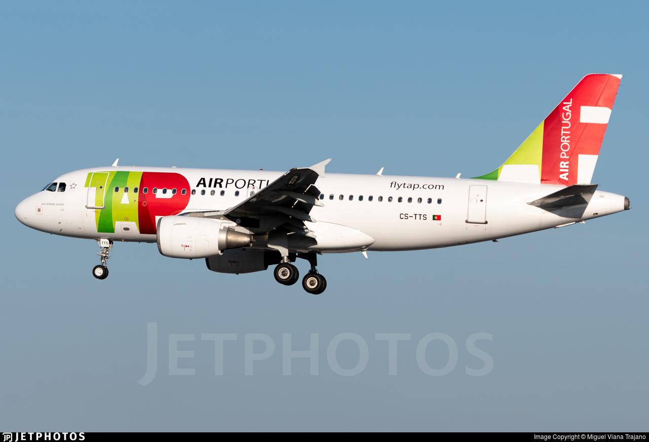 CS-TTS - Airbus A319-112 - TAP Air Portugal