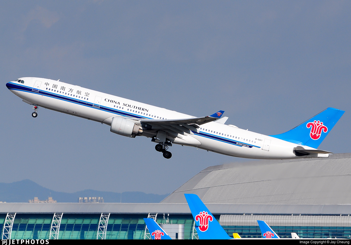 B-5917 - Airbus A330-323 - China Southern Airlines