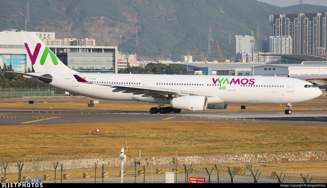 EC-NHM - Airbus A330-343 - Wamos Air