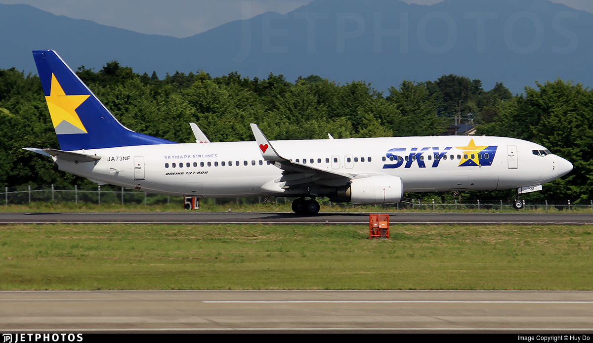 JA73NF - Boeing 737-86N - Skymark Airlines