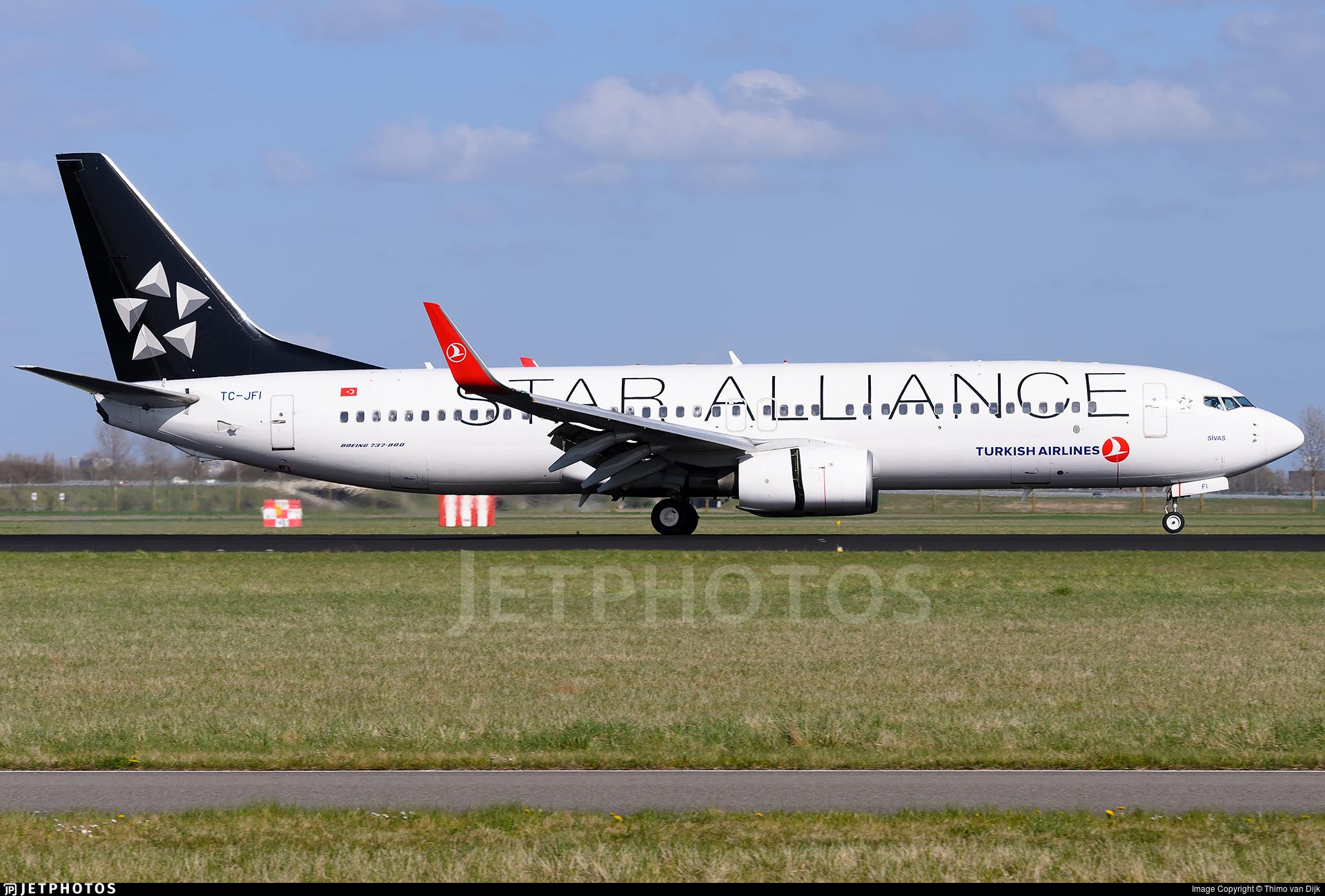TC-JFI - Boeing 737-8F2 - Turkish Airlines