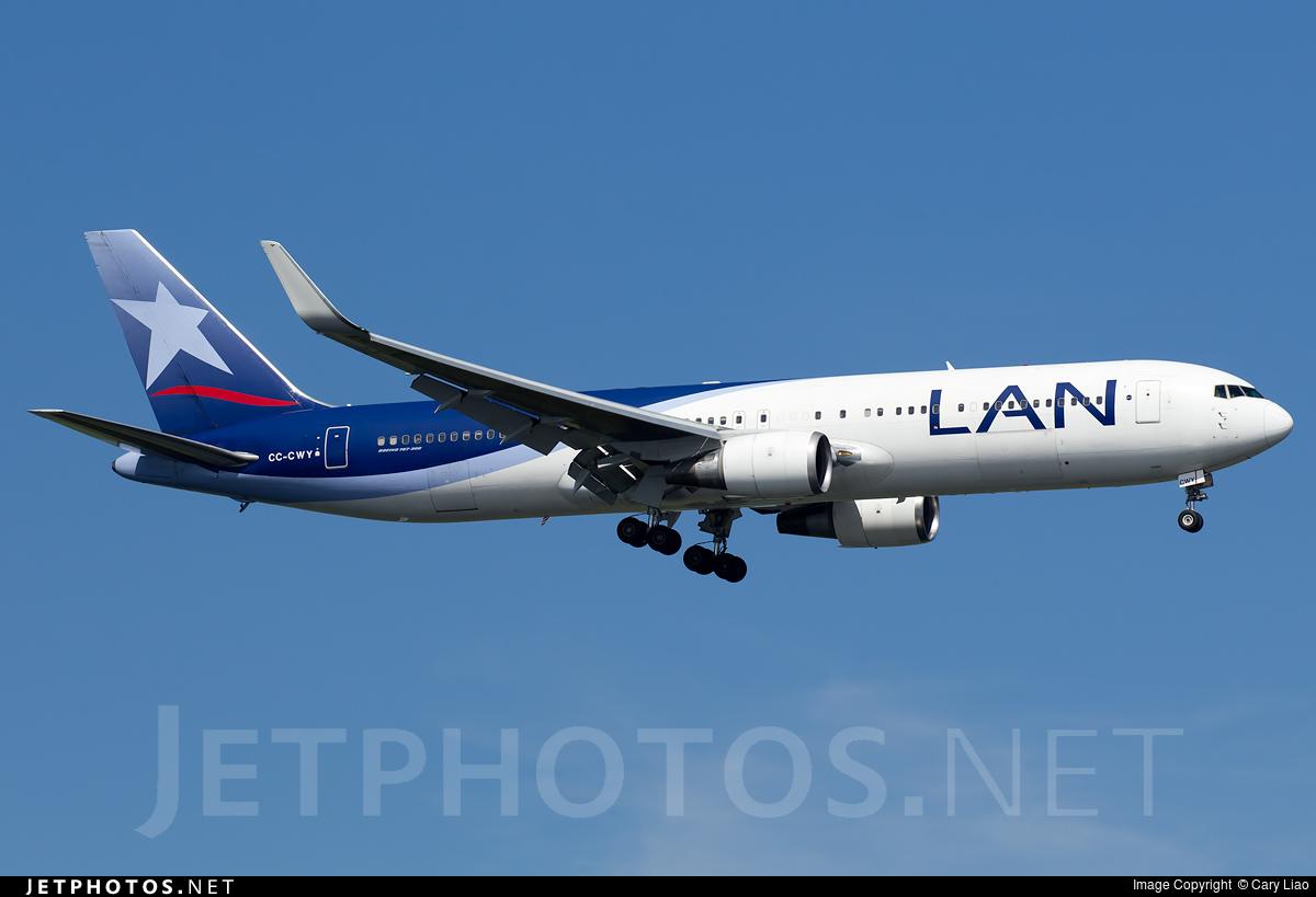 CC-CWY - Boeing 767-316(ER) - LAN Airlines