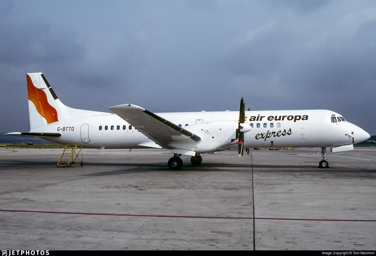 G-BTTO - British Aerospace ATP - Air Europa Express