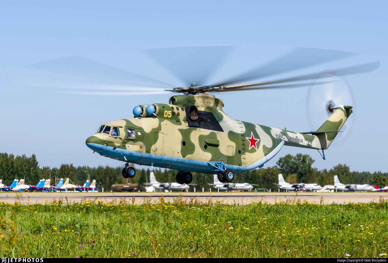 RF-93527 - Mil Mi-26 Halo - Russia - Air Force