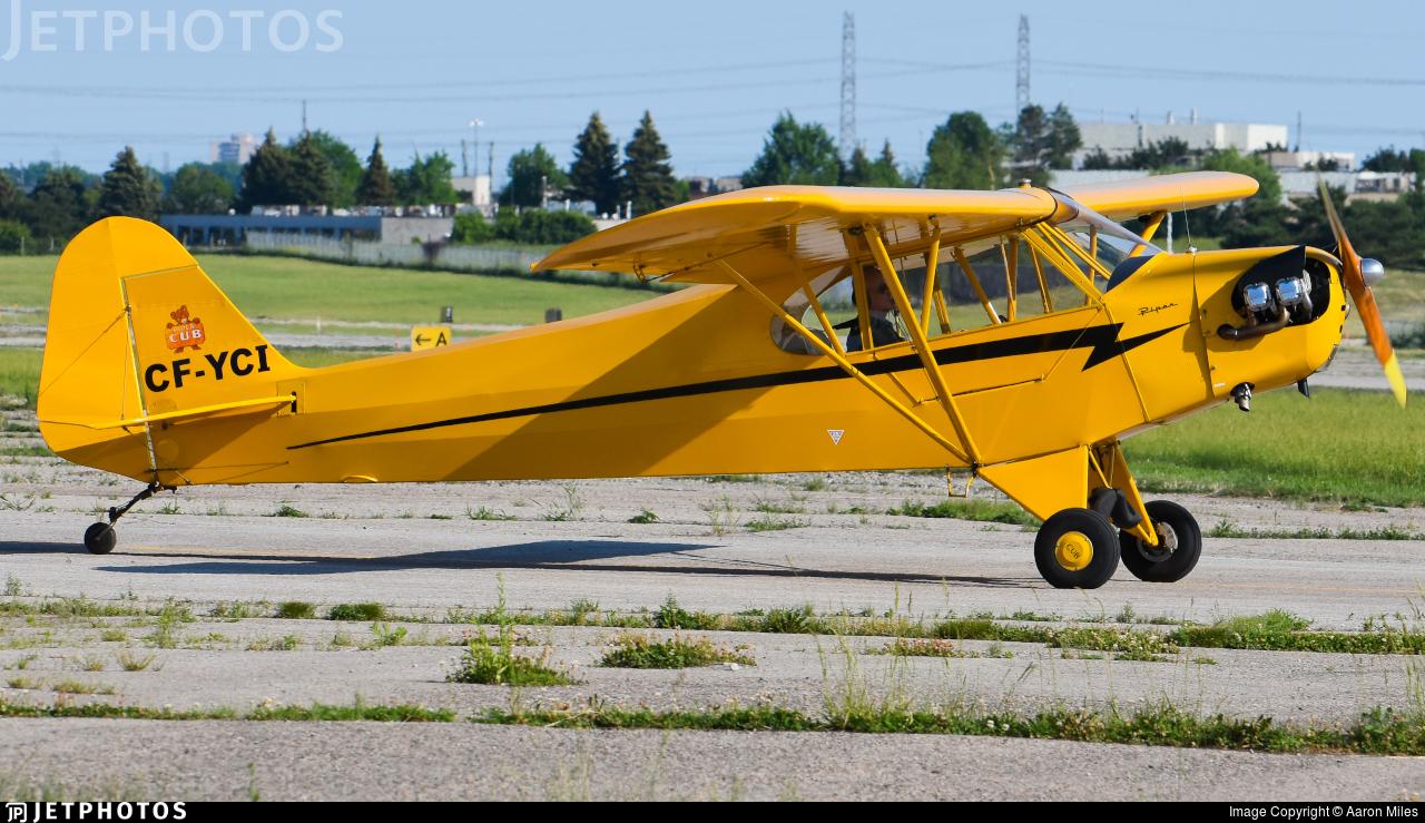 CF-YCI - Piper J-3C-65 Cub - Private