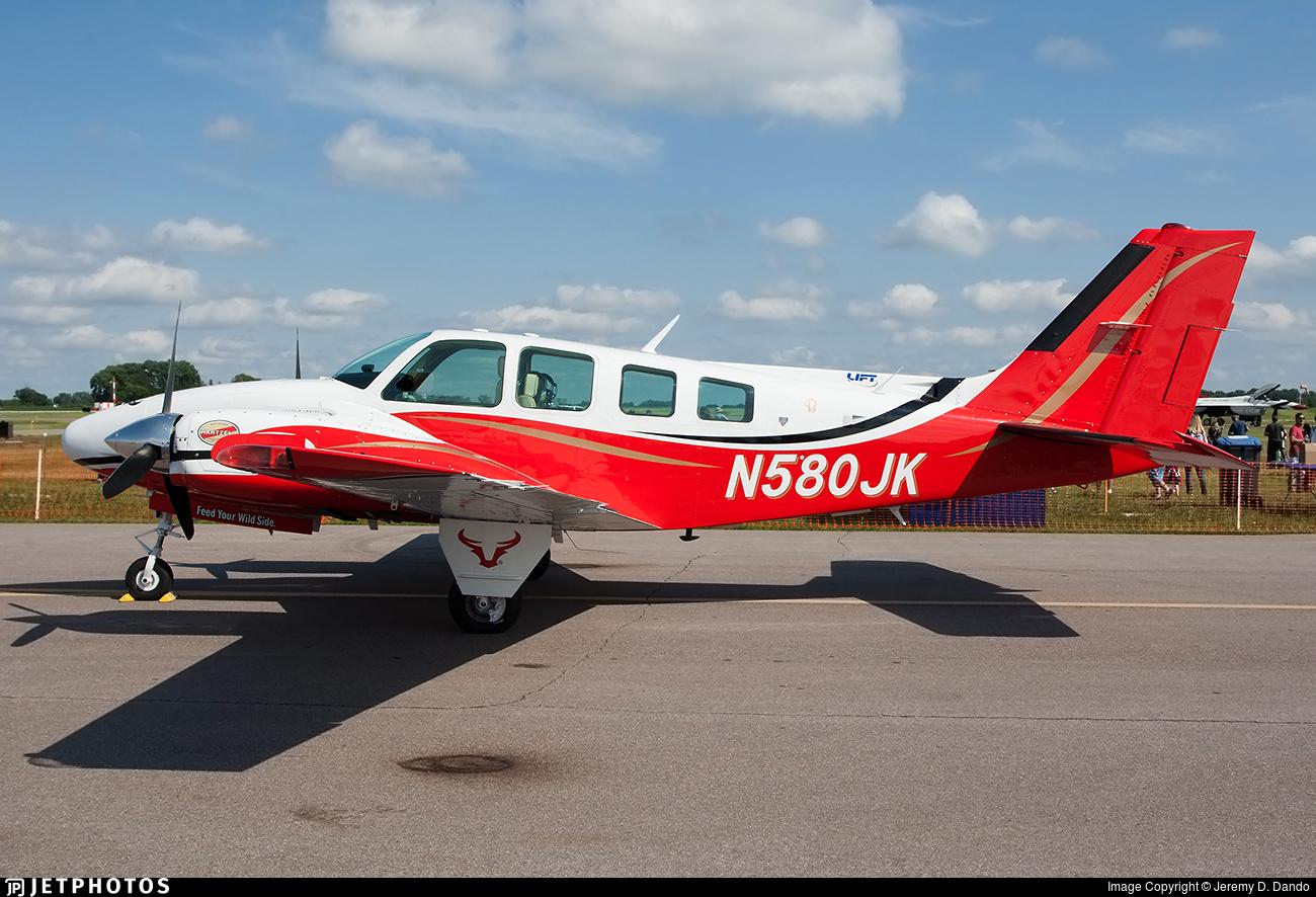 N580JK - Beechcraft 58 Baron - Private