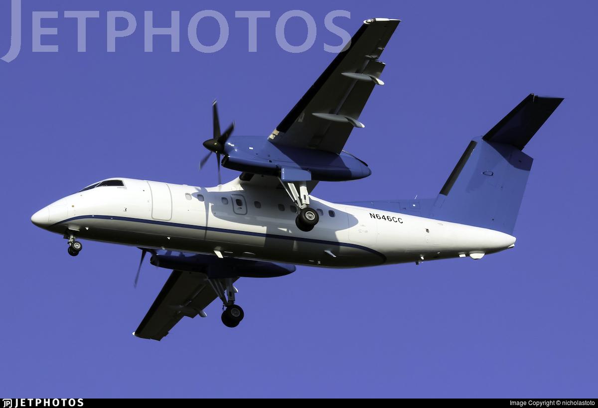 N646CC - Bombardier Dash 8-Q202 - Private