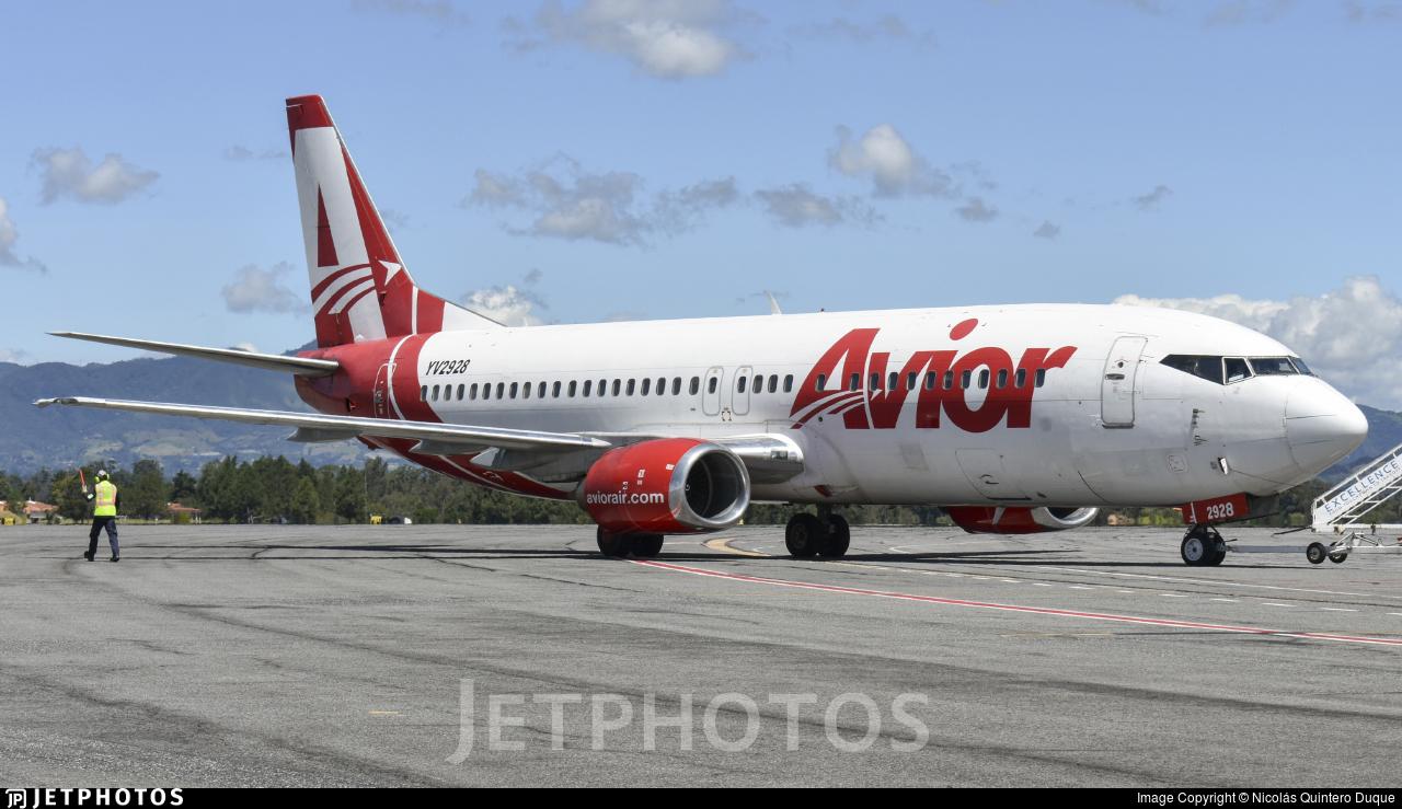 YV2928 - Boeing 737-401 - Avior Airlines
