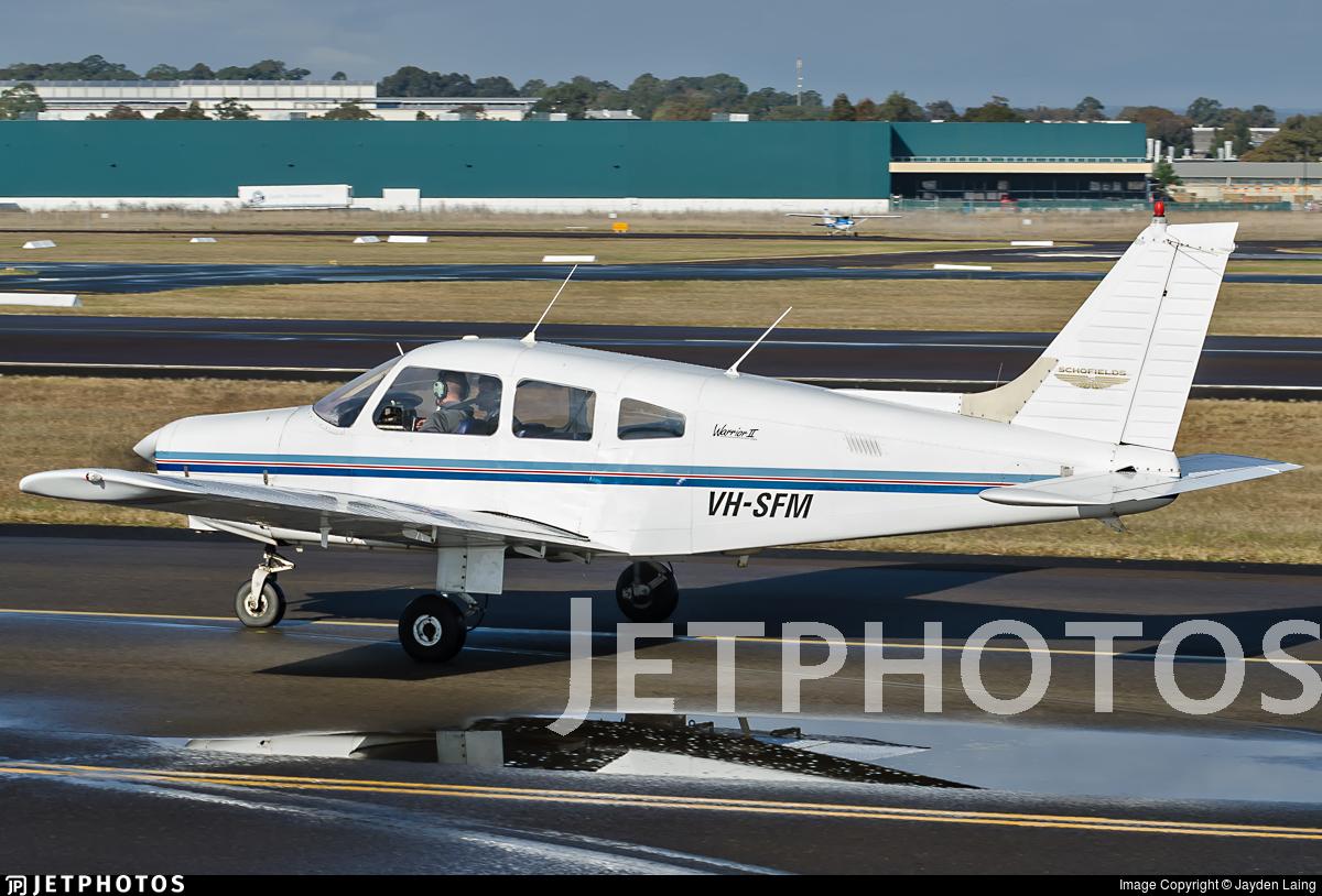 VH-SFM - Piper PA-28-161 Warrior II - Schofields Flying Club