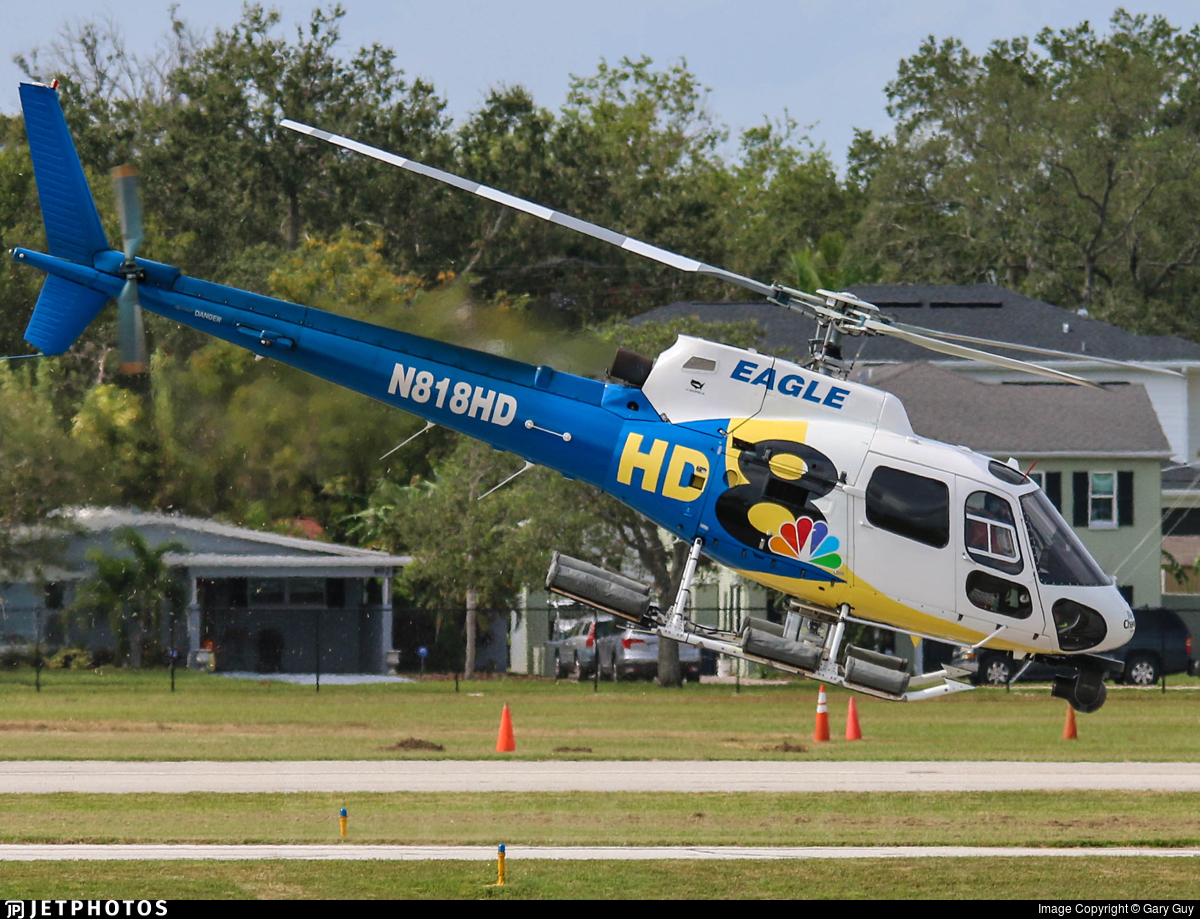 N818HD - Eurocopter AS 350B3 Ecureuil - Private
