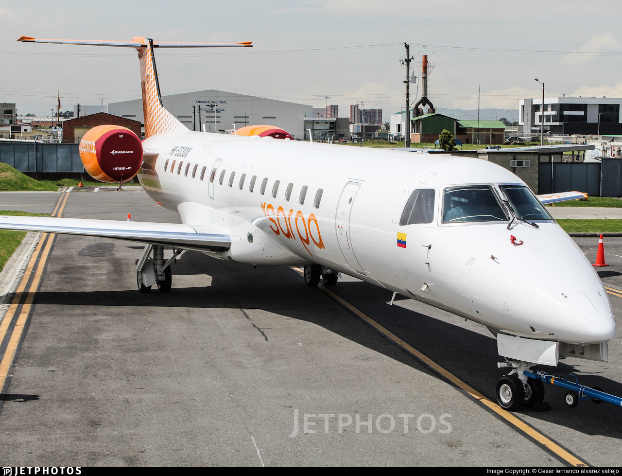 HK-5330-X - Embraer ERJ-145LR - SARPA - Servicios Aereos Panamericanos